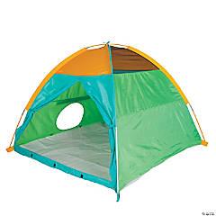 Pacific Play Tents Super Duper 4-Kid II Dome Tent - Blue / Green / Orange