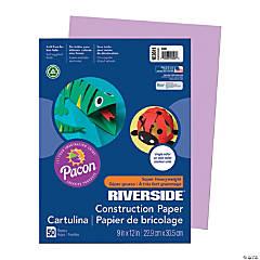 Pacon® Riverside® Construction Paper - Lilac