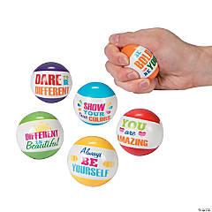 Paint Chip Motivational Stress Balls