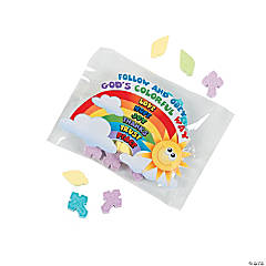 Palm And Cross Easter Candy Fun Packs