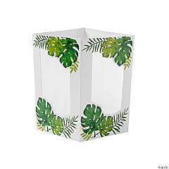 Palm Leaf Centerpiece Luminaries