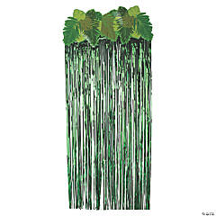 Palm Leaf Door Curtain