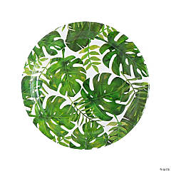 Palm Leaf Paper Dinner Plates - 8 Ct.