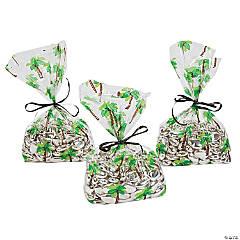 Palm Tree Cellophane Bags
