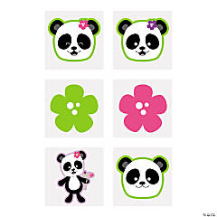 Panda Party Tattoos