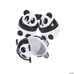 Panda Plastic Easter Eggs