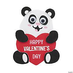 Panda Valentine's Day Magnet Craft Kit