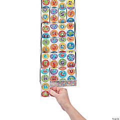 Paper Alphabet Stickers Mega Assortment