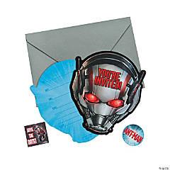 Paper Ant-Man Invitations