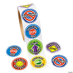 Paper Anti-Bullying Sticker Rolls
