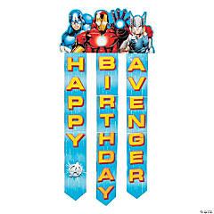 Paper Avengers Assemble™ Birthday Banner