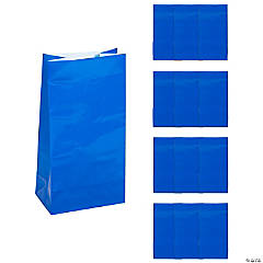 Paper Bags - Royal Blue