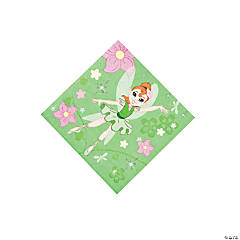 Paper Ballerina Fairies Beverage Napkins