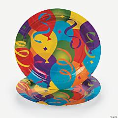 Paper Balloon Dessert Plates