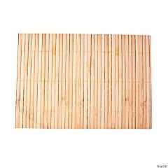 Paper Bamboo Print Place Mats