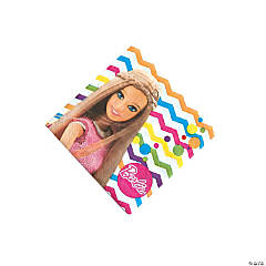 Paper Barbie™ Sparkle Beverage Napkins