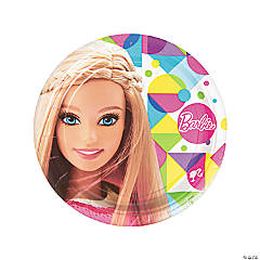 Paper Barbie™ Sparkle Dinner Plates
