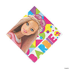 Paper Barbie™ Sparkle Luncheon Napkins