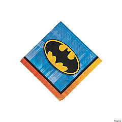 Paper Batman Beverage Napkins