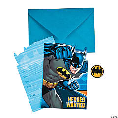 Paper Batman™ Invitations