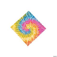 Paper Beach Bum Tie-Dye Beverage Napkins