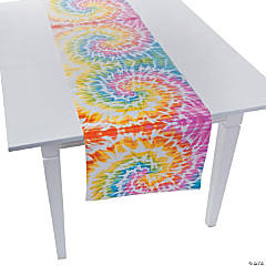 Paper Beach Bum Tie-Dye Table Runner