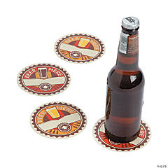 Paper Beer Party Coasters