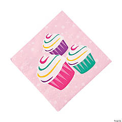 Paper Birthday Girl Beverage Napkins