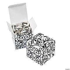 Paper Black And White Gift Boxes