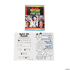 Paper Black History Month Activity Books