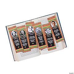 Paper Black History Month Bookmark Assortment