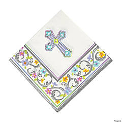 Paper Blessed Day Luncheon Napkins