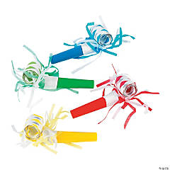 Paper Blowouts with Fringe