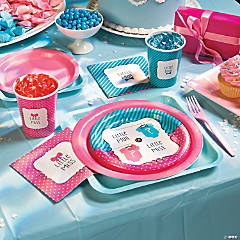 Paper Bow or Bow Tie Dessert Plates