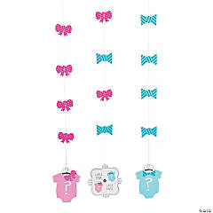 Paper Bow or Bow Tie Hanging Cutouts