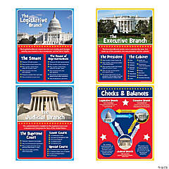 Paper Branches of Government Poster Set