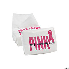 Paper Breast Cancer Awareness Facial Tissue Packs