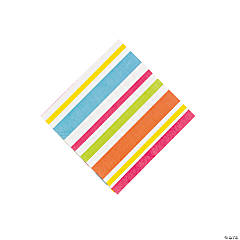 Paper Bright Beach Beverage Napkins