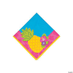 Paper Bright Pineapple Beverage Napkins