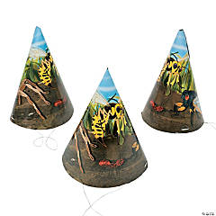 Paper Bug Cone Hats