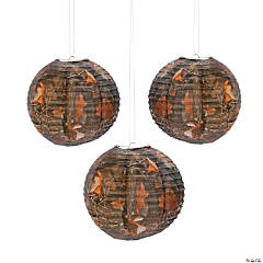 Paper Camouflage Paper Lanterns