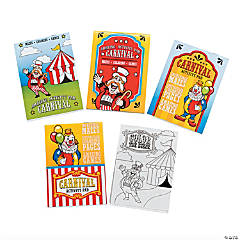 Paper Carnival Activity Pads