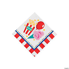 Paper Carnival Beverage Napkins
