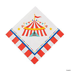 Paper Carnival Luncheon Napkins