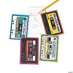Paper Cassette Shaped Notepads