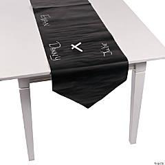 Paper Chalkboard Christmas Table Runner