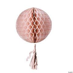 Paper Champagne Tissue Balls With Tassel