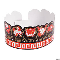 Paper Chinese New Year Crowns