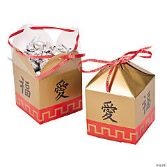 Paper Chinese New Year Favor Boxes