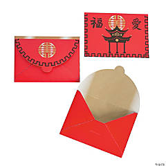 Paper Chinese New Year Favor Envelopes